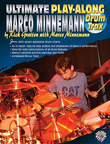 Ultimate Play-Along Drum Trax Marco Minnemann: Jam with Seven Explosive Drum Charts, Book & 2 CDs