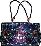 Czds India Women's Blue Handbag (BAG-28)