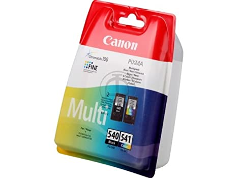 Canon Pixma MG 4200 Series (PG-540 CL 541 / 5225 B 006) - original - 2 x Printhead multi pack (black, cyan, magenta, yellow) - 180 Pages