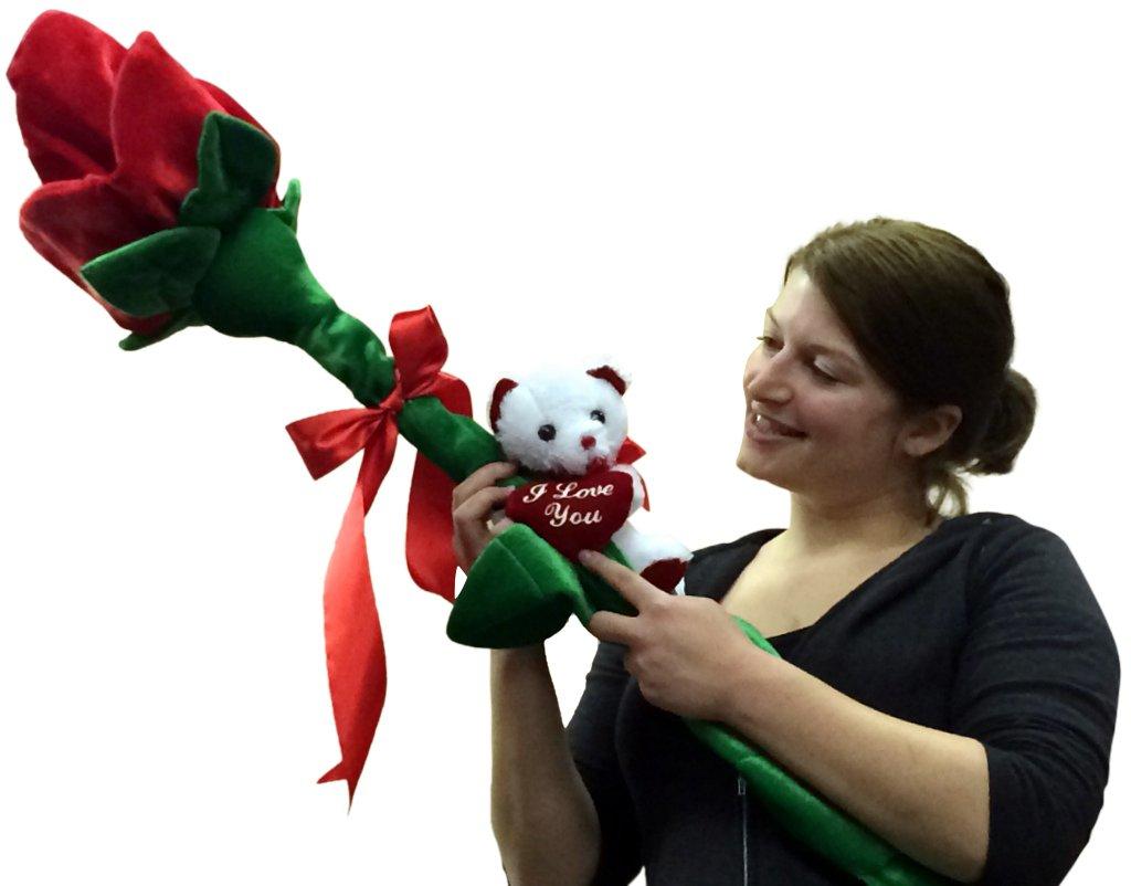 Giant Stuffed Rose