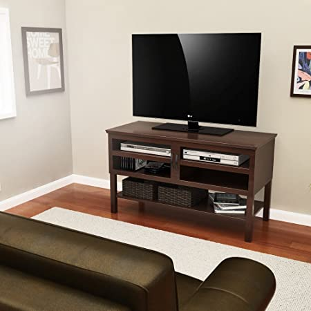 Z-Line Z-Line Rylee TV Stand / Table Console - Espresso, Brown, Solid Wood / Veneer