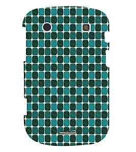 Fuson Premium Elephnat Pattern Design Printed Hard Plastic Back Case Cover for Blackberry Bold 9930