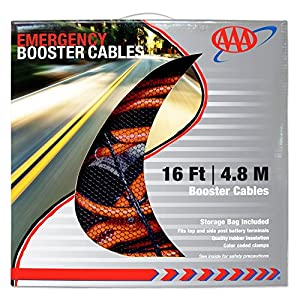 AAA 16 ft. 6 Gauge Booster Cable