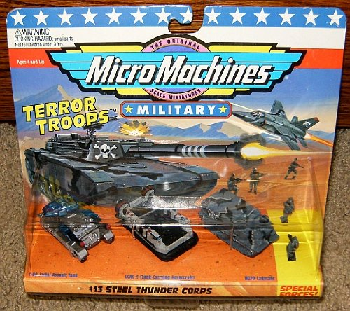 Micro Machines Steel Thunder Corps #13 Military Collection