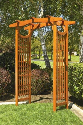 Wooden garden arbors for Wooden garden arbor designs
