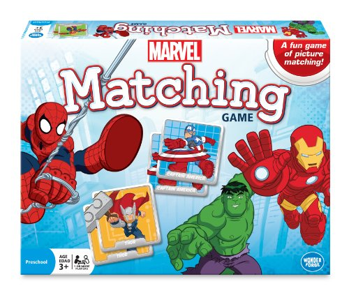 Marvel Matching Game, Blue