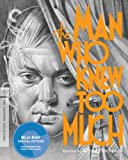 The Man Who Knew Too Much (Criterion Collection) [Blu-ray]
