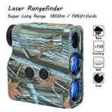 Laser Rangefinder - Yukiss® R11-1960 Super Long Range 7 X 25mm 1-mile Golf Rangefinder with 5 Modes (Scan - Hunting - Relf - Rain - Standard) Best for Hunt Military and Golfer.