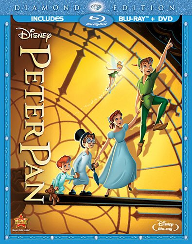 Peter Pan (Two-Disc Diamond Edition Blu-ray/DVD Combo in Blu-ray Packaging) Cover Art