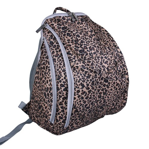 Guangzhouhuayan Multifunctional Nylon Colorful Baby Diaper Bag (Leopard Print) front-354766