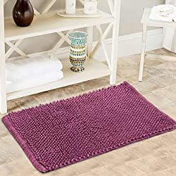 Obsessions Purple Baby Corn Bath Mat Multicolor