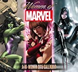 img - for Women of Marvel Wall Calendar (2015) book / textbook / text book