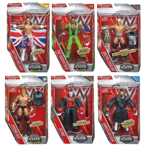 WWE Elite Collection Series 39 Action Figure Case