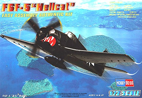 Hobby Boss HY80260 F6F-5 Hellcat Airplane Model Building Kit - 1