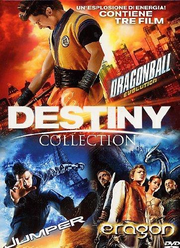Destiny Collection (3 Dvd) [ Dragonball Evolution + Eragon + Jumper ]  Italian Import