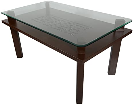 Rawat six seater dining table muticolour available at for Dining table price