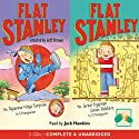 Two Flat Stanley Stories: 'The Japanese Ninja Surprise' & 'The Great Egyptian Robbery' (       UNABRIDGED) by Jeff Brown Narrated by Jack Hawkins