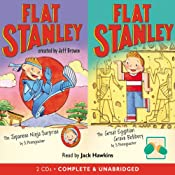 Two Flat Stanley Stories: 'The Japanese Ninja Surprise' & 'The Great Egyptian Robbery' | Jeff Brown