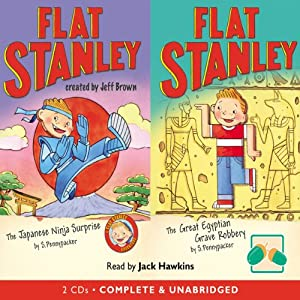 Two Flat Stanley Stories: 'The Japanese Ninja Surprise' & 'The Great Egyptian Robbery' Audiobook