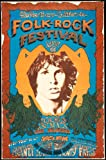 The Doors at the Northern California Folk/Rock Festival 1968 Promotion Poster