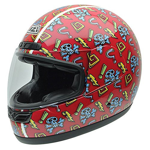 NZI-050268G705-Class-Jr-Graphics-Red-Skulls-Casco-de-Moto