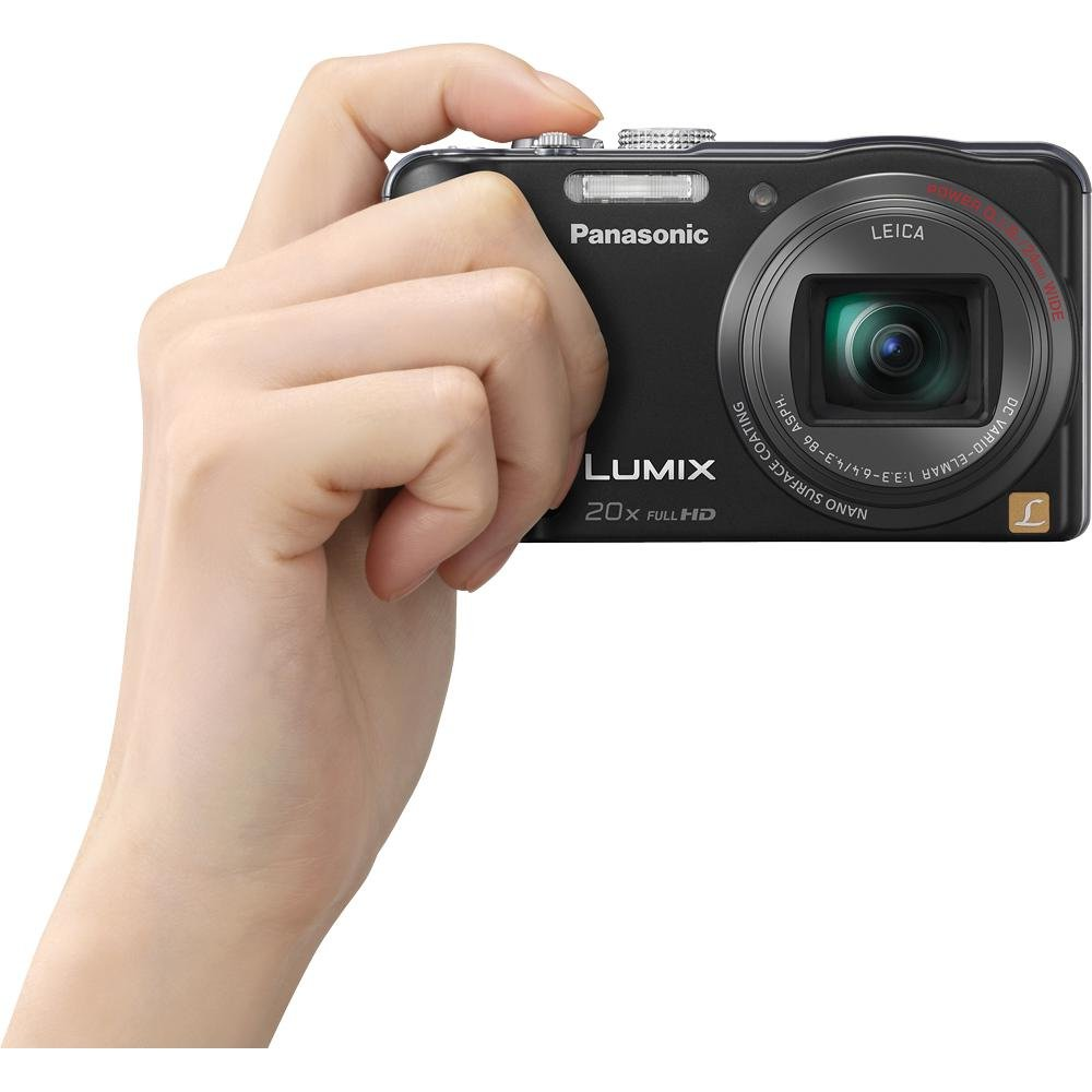 Panasonic Lumix ZS20 14.1 MP High Sensitivity MOS Digital Camera with 20x Optical Zoom