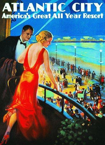 Eurographics Atlantic City: America's Great Year Round Resort 1000 Piece Jigsaw Puzzle (small box)