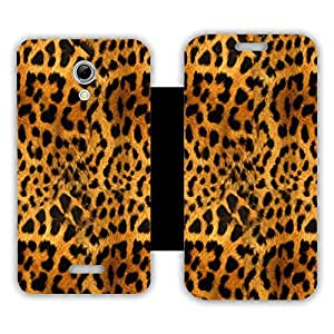 Phone Candy Designer Flip Cover with hi-res printed Vinyl sticker wrap-around for Micromax Canvas 2.2 A114
