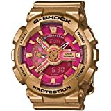 G-Shock GMAS-110 Crazy Gold Luxury Watch - Rose Gold/Pink / One Size