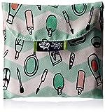 #3: Kanvas Katha Trifold Sanitary Napkin Printed Canvas Pouch Holder (Multi-Color) (KKSP002)