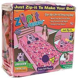 Zipit Friends Twin Bedding Set, Pink Unicorn