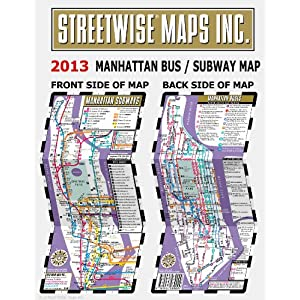 streetwise manhattan bus subway map laminated bus u amp subway map Streetwise Manhattan Bus Subway Map – Laminated Subway Map of New York City 300x300
