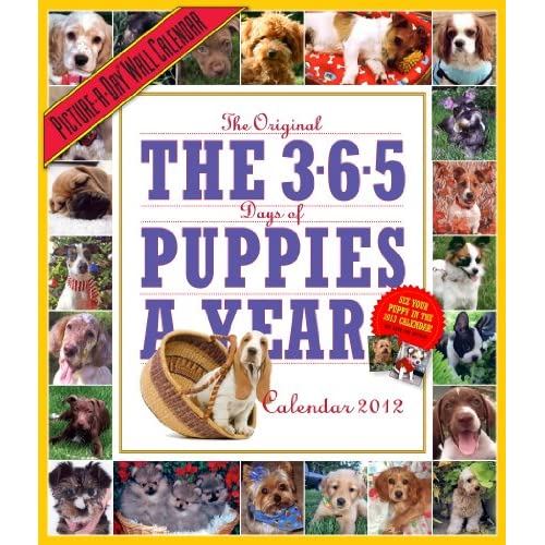 365 Puppies-a-Year 2012 Calendar (Picture-A-Day Wall Calendars) Publishing Workman