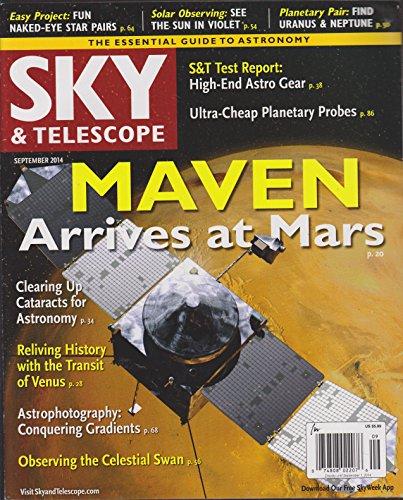 Sky & Telescope Magazine September 2014