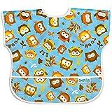 Bumkins Waterproof Junior Bib, Blue Owl