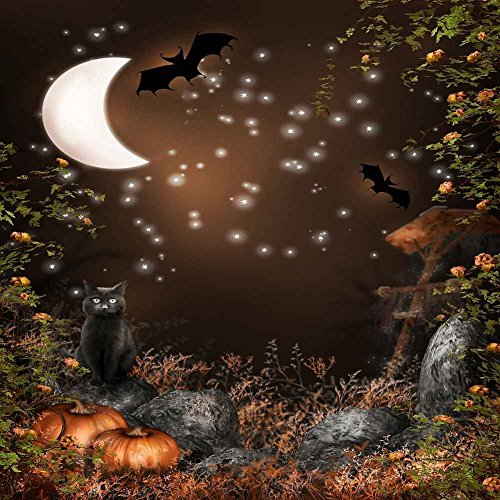[GladsBuy Halloween Night 10' x 10' Computer Printed Photography Backdrop Halloween Theme Studio Background] (Halloween 10)