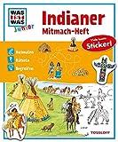 Mitmach-Heft Indianer: Ausmalen