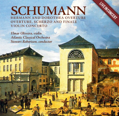 Buy Schumann: Hermann and Dorothea Overture; Overture, Scherzo and Finale; Violin Concerto From amazon