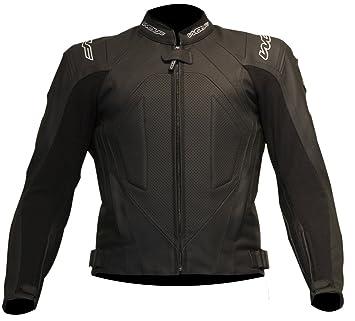 Nouveau loup titane 9395 moto cuir Jacket Black