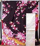 新品仕立て上がり品 振袖セット 振袖・袋帯・長襦袢セット☆裄長サイズ 7  【リサイクルきもの・リサイクル着物・アンティーク着物・着物買い取りの専門店・りさいくるきものてんよう】