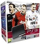 Console PS3 320 Go noire + Fifa 2011