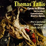 T. Tallis Thomas Tallis: Spem In Alium, (40 Part Motet)/Lamentations/...