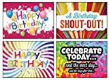 12-Boxed-Birthday-Greeting-Cards-Celebrate-NIV-Scripture-Included-in-Each-Card-Bulk-Birthday-Cards-12-Envelopes-Boxed-Cards-Colorful-Loud-Birthday-Cards