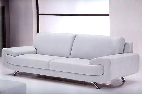 Sofa Colorado, Stoff Mikrofaser Divano 2 posti - 190x80x90cm Tessuto Microfibra Marrone Chiaro