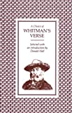 A Choice of Whitman's Verse (0571086136) by Whitman, Walt
