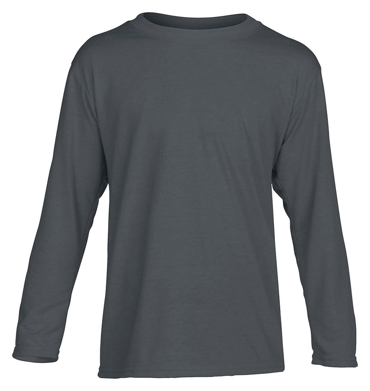 Gildan Big Boys' Performance Long-Sleeve Jersey T-Shirt