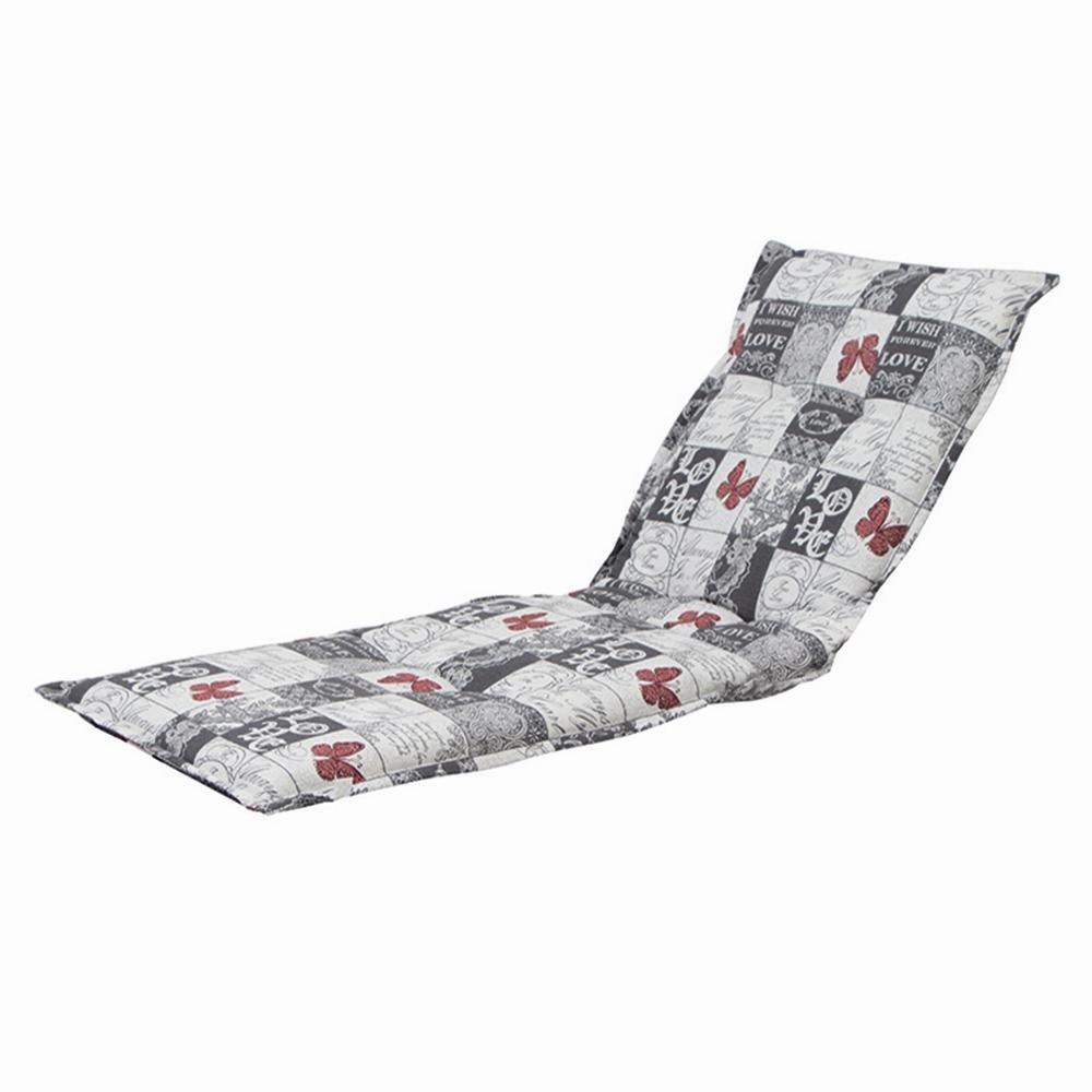 H.G. 5477165 Auflage Dessin Kiruna für Liege, 75% Baumwolle 25% Polyester, 190 x 63 x 9 cm jetzt kaufen