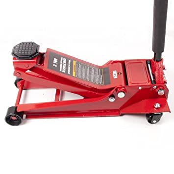 3 ton 98mm basso cric idraulico carrello lega tuv diy for Garage per auto modulari 3