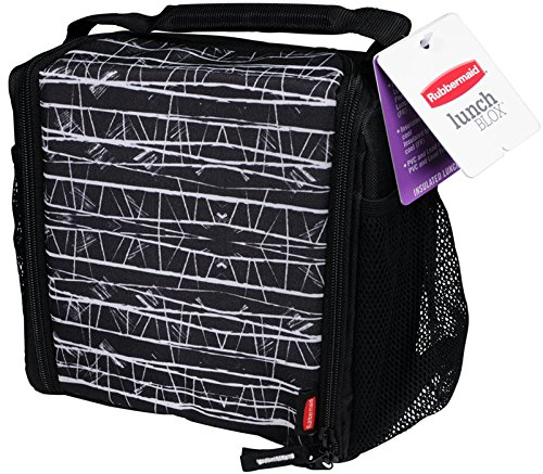Rubbermaid  Lunch Blox medium durable bag – Black Etch