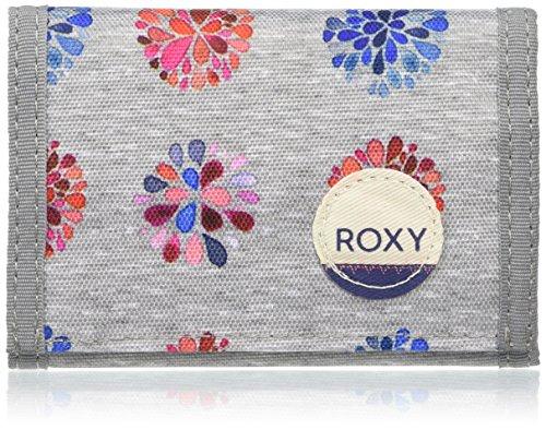 Roxy donna Portafogli SMALL J, Grigio, taglia unica, ERJAA03137 - KPG6 - 1SZ